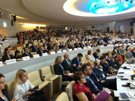 Dünya Sağlık Örgütü Avrupa Bölge Toplantısı Kopenhag'da 16 Eylül 2019 tarihinde başlayacak.