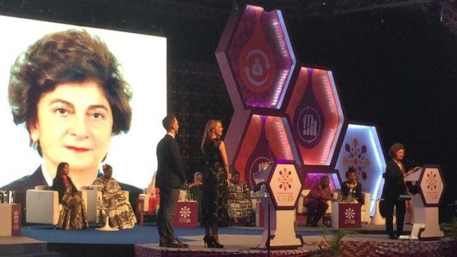 Türk akademisyen Prof. Dr. Ayşe Akın'a Birleşmiş Milletler Nüfus Fonu ödülü verildi.