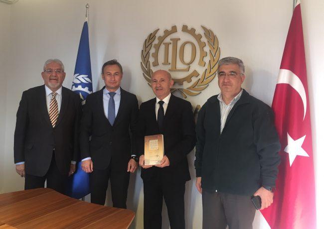Uluslararası Çalışma Örgütü (ILO) Türkiye Direktörü Numan Ozcan ile Görüşme