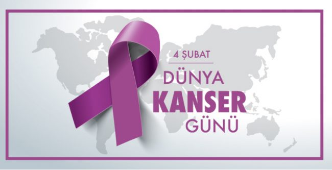"""4 Şubat """"Dünya Kanser Günü"""",  Ölümlerin Birinci Derece Sorumlusu Kanser"""