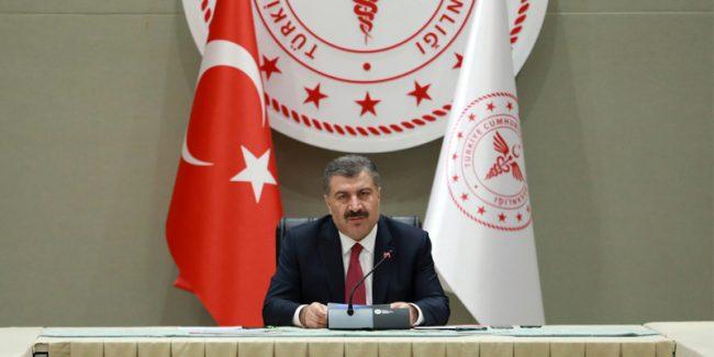 Sağlık Bakanı Dr. Koca, Koronavirüs (Kovid-19) ile mücadelede yeni gelişmelere ilişkin açıklamalarda bulundu. (24.3.2020)