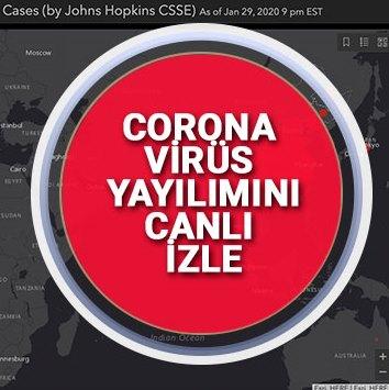 Türkiye ve Dünyada K/Cororanavirüs