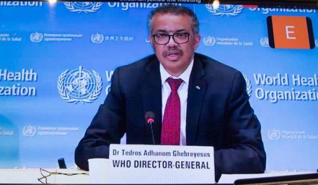 DSÖ Genel Direktörü'nün COVID-19 hakkındaki basın açıklaması
